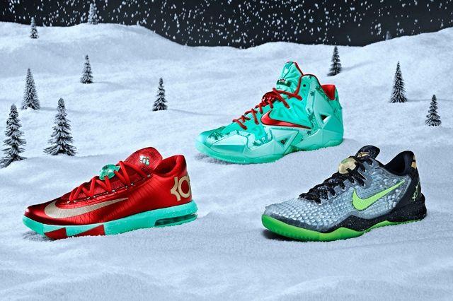 Nike Basektball Christmas Complete Set