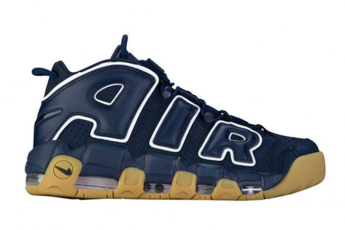 Nike Air More Uptempo Obsidian Blue Gum 1