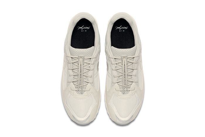 Fear Of God Nike Air Skylon Ii Light Bone Clear Reflect Silver Sail Bq2752 003 Release Date Top Down