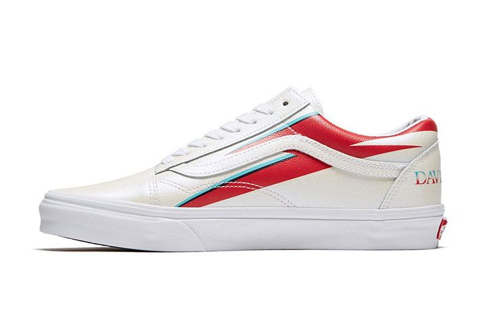David Bowie Vans Collaboration Capsule Collection Old Skool Left
