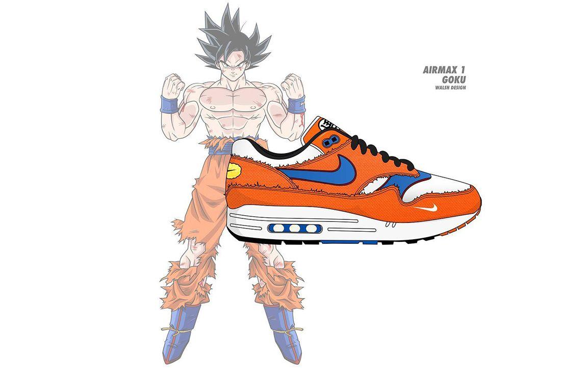 Dragon Ball Z Nike Walsh Design 7