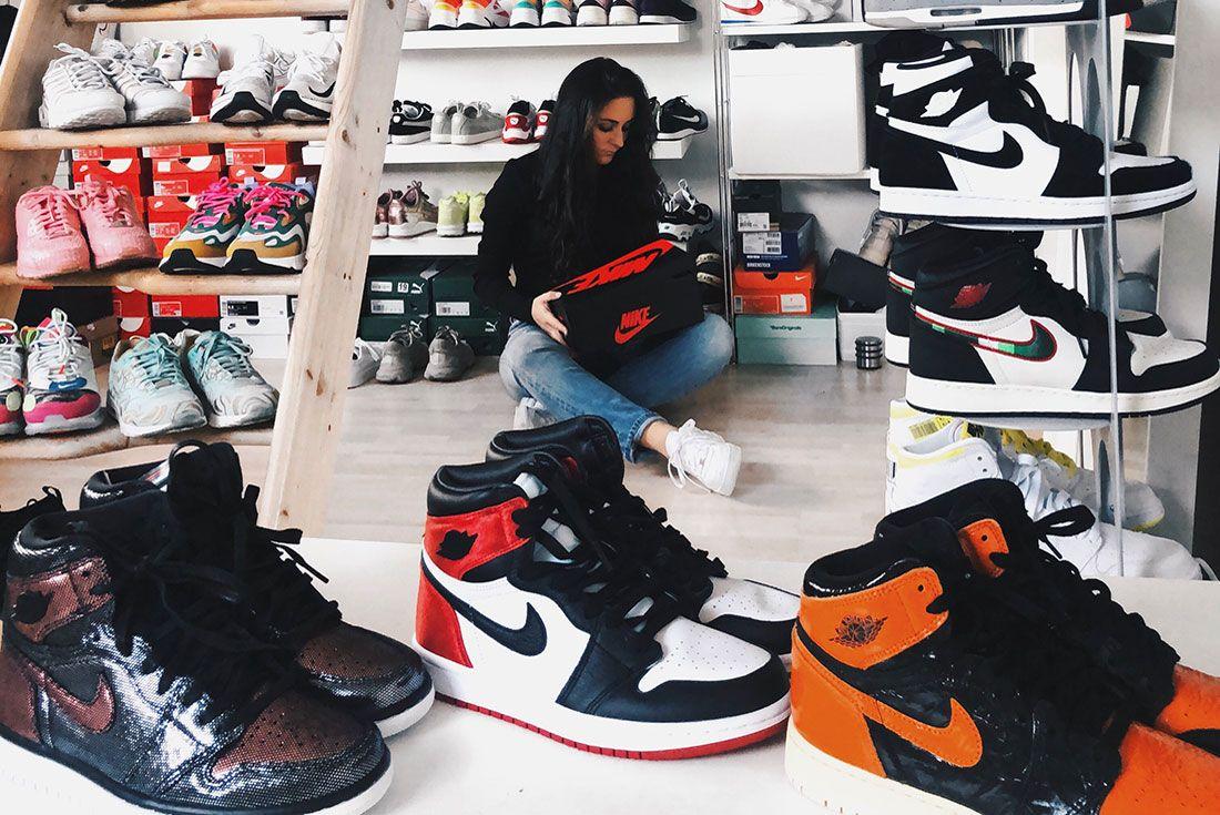 Nike Female Sneakers Jordan Annika