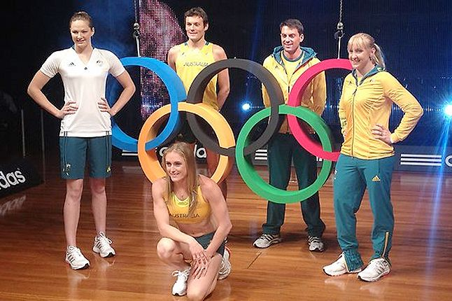 Australia Olympic 2012 Uniform 1