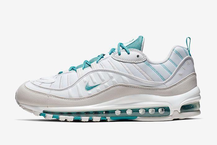Nike Air Max 98 Teal Nebula 640744 109 Lateral