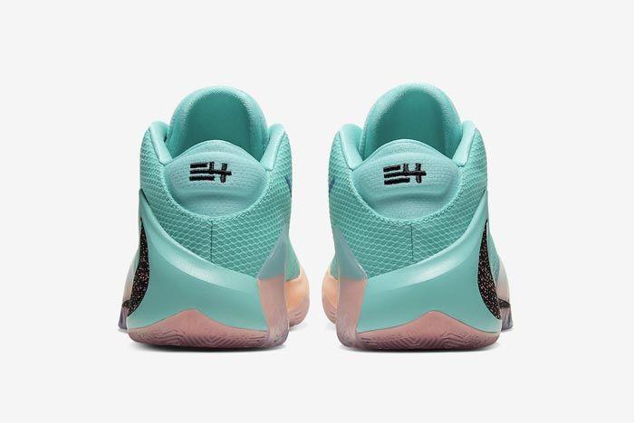 Nike Zoom Freak 1 All Bros Turquoise Heels