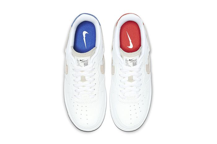 Nike Air Force 1 Inside Out White 898889 103 Release Date Top Down
