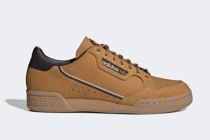 Adidas Continental 80 Wheat Eg3098 Lateral