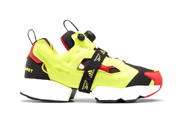 Reebok X Adidas Instapump Fury Boost Side Profile Shots2