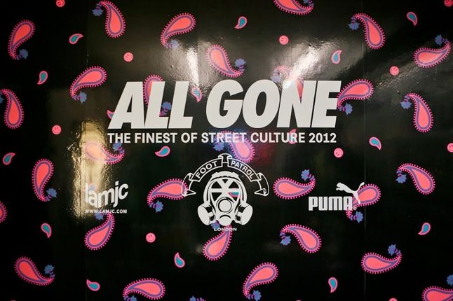 All Gone Book Launch At Foot Patrol With Michael Dupouy Poster 1