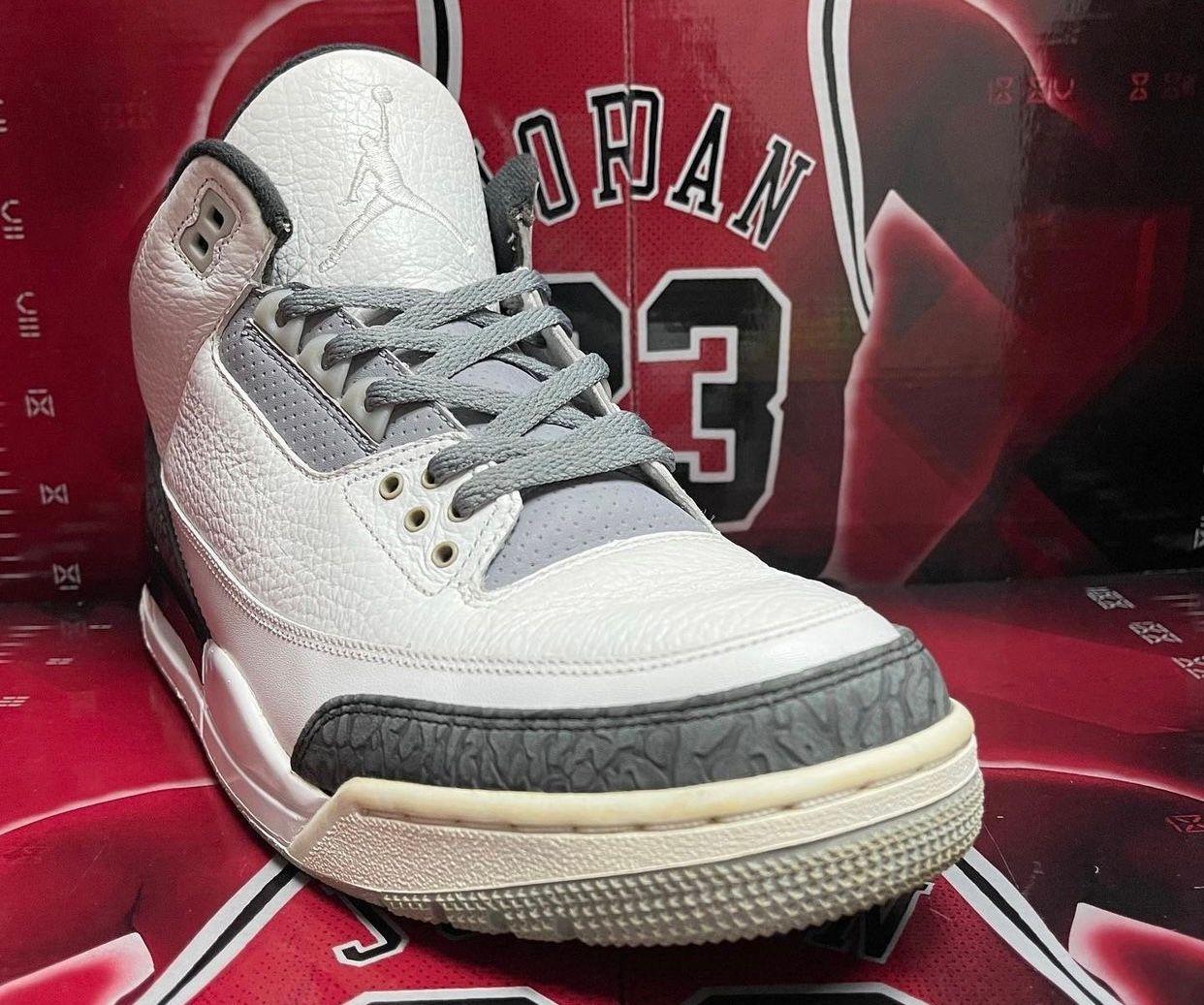 Eminem x Air Jordan 3 2012 Sample