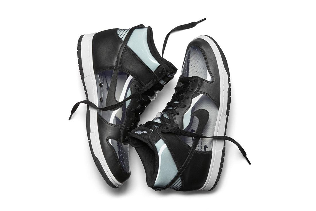Comme Des Garcons Nike Dunk Invisible 2