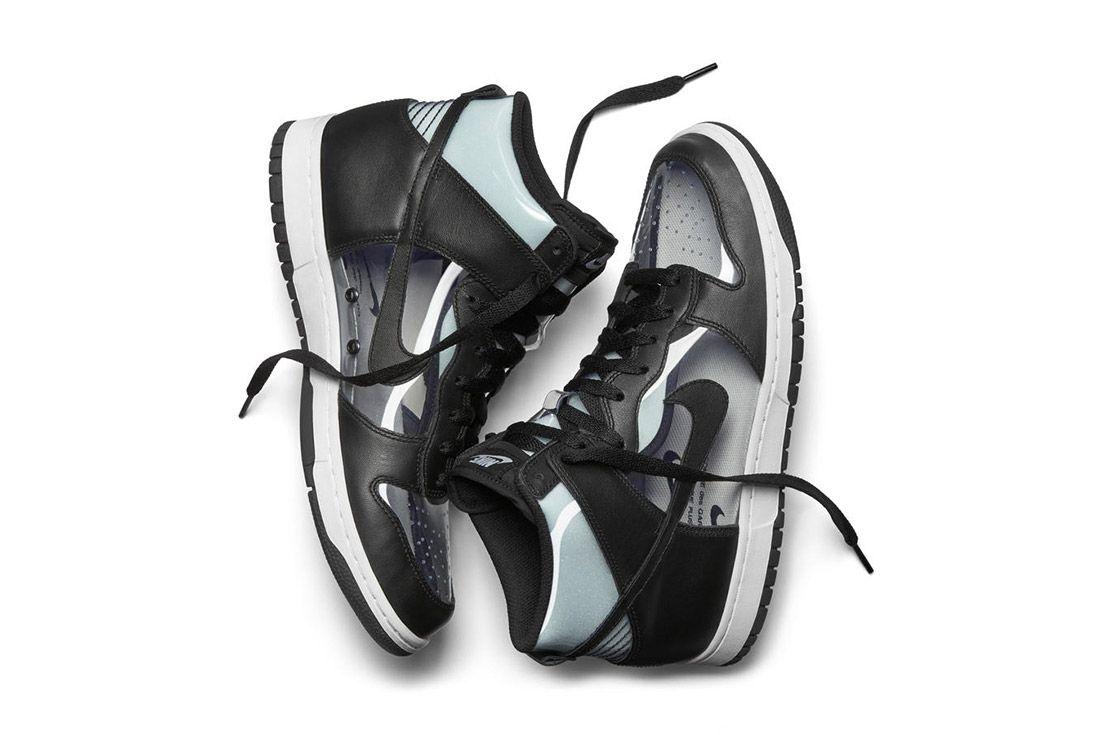 Comme Des Garcons Nike Dunk Invisible 2