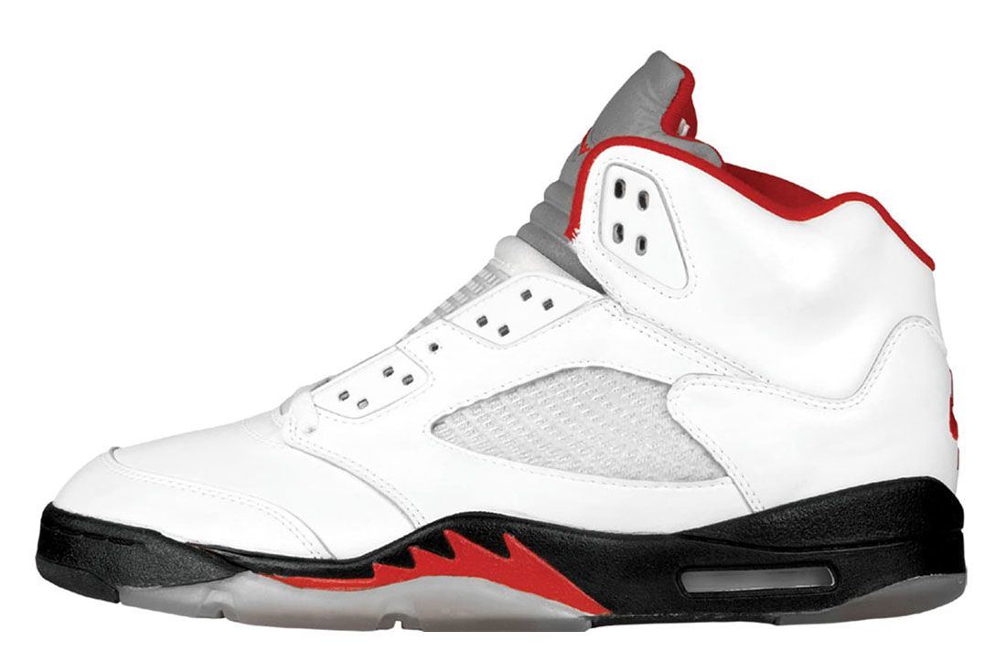 1990 Air Jordan 5 Lateral Side Shot
