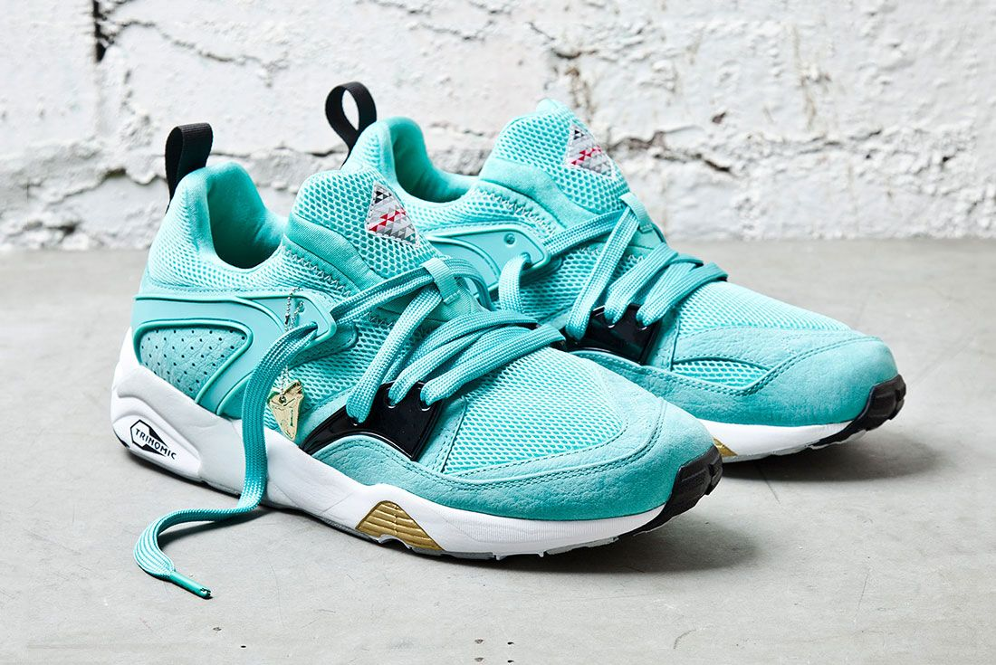 Puma Sneaker Freaker Shark Mint 3 Side