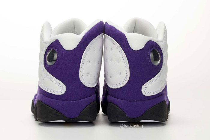 Air Jordan 13 Lakers Heel