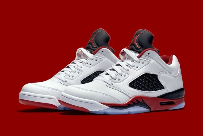 Air Jordan 5 Fire Red 8