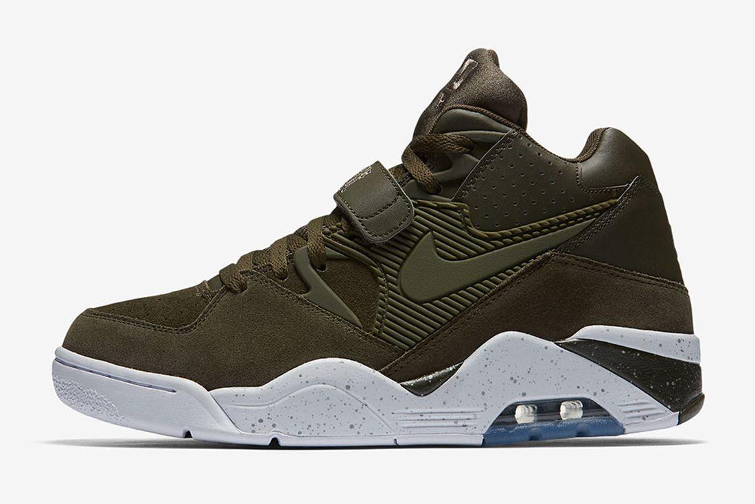 Nike Air Force 180 Olive Sneaker Freaker 1