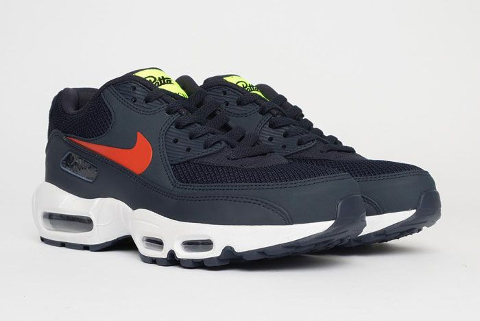 Patta X Nike Air Max 9095 Front Side Navy