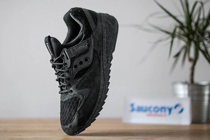 Saucony Grid 8500 Weave Black 3
