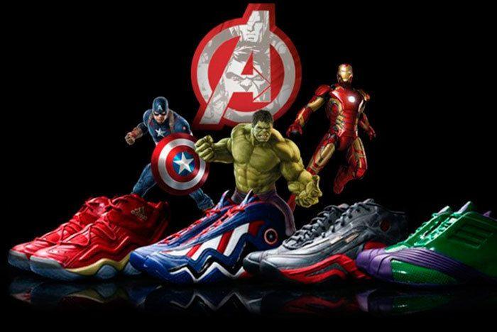 Adidas Avengers Pack Sneaker Freaker 1