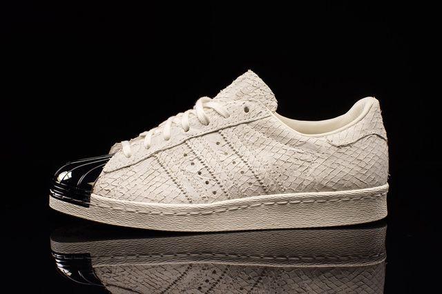 Adidas Superstar 80S Metal Toe Antique White 2