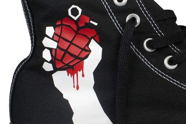 Converse Chuck Taylor All Star Green Day American Idiot Detail 1