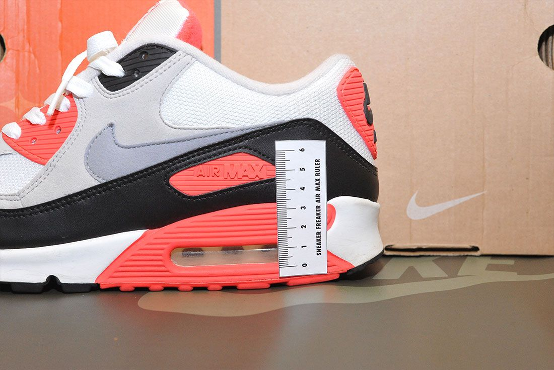 Nike Air Max 90 Infrared 2010 Air Bubble Ruler