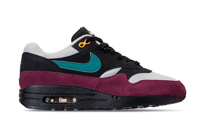 Nike Air Max 1 Black Geode Teal 1