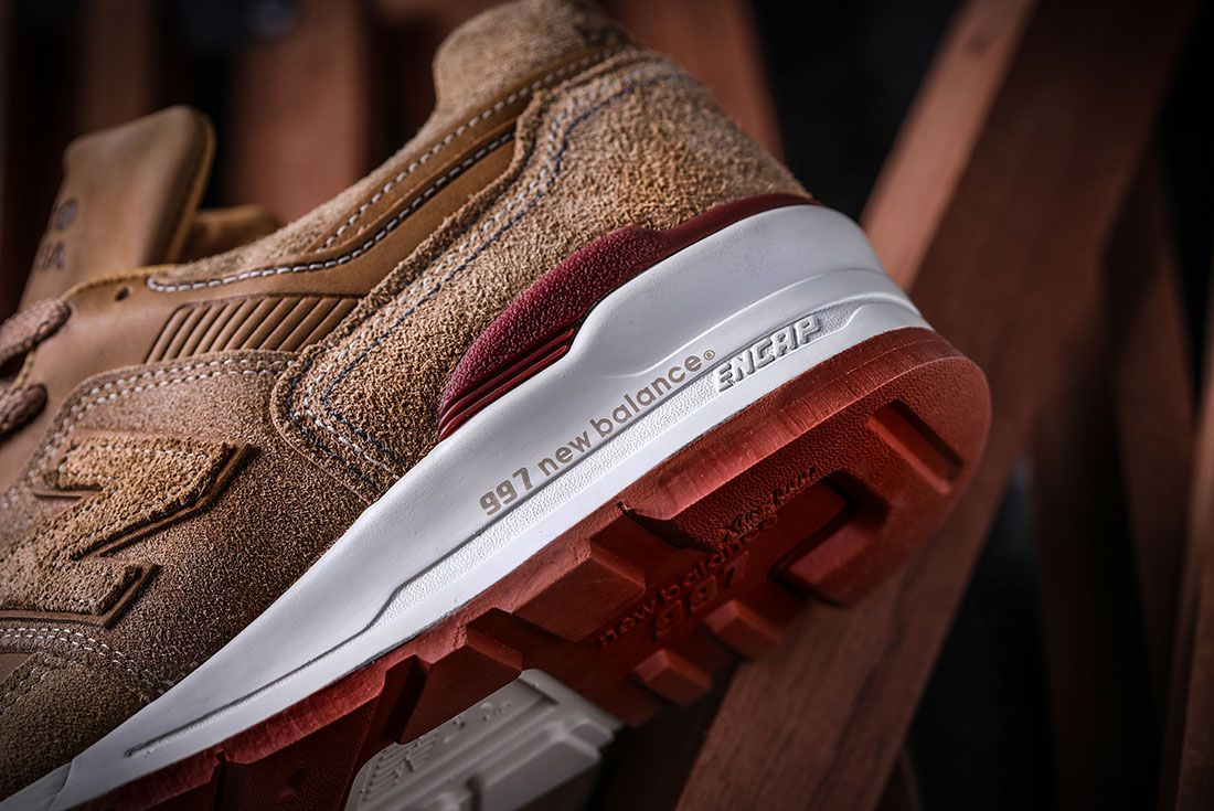 Red Wings Shoes New Balance 997 Sneaker Freaker 1 Heel