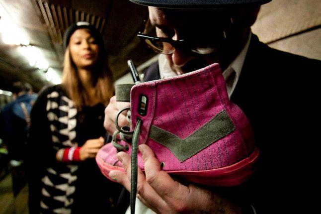 Ricky Powell Foot Patrol London Pony Launch Pink Shoe 1