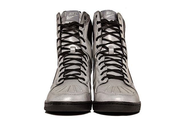 Nike Dunk Sky Hi Sneakerboot Prm Reflective Silver 4