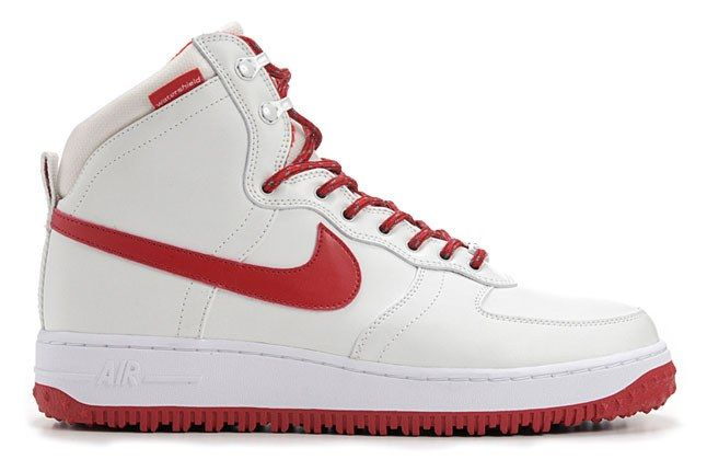 Nike Air Force 1 Duckboot Red White 1