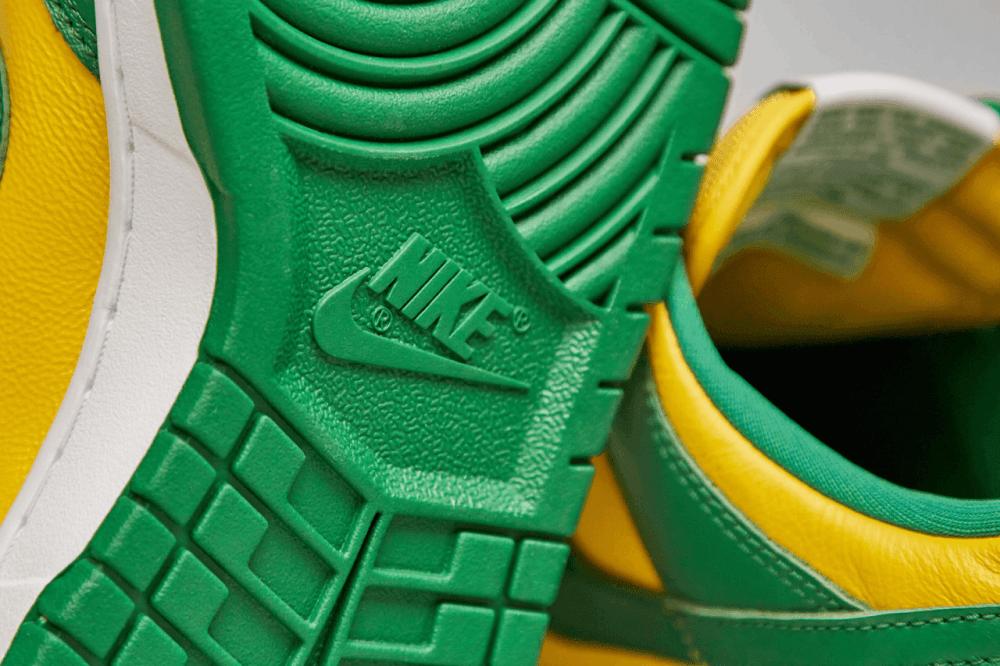 Nike Dunk Low Brazil Sole