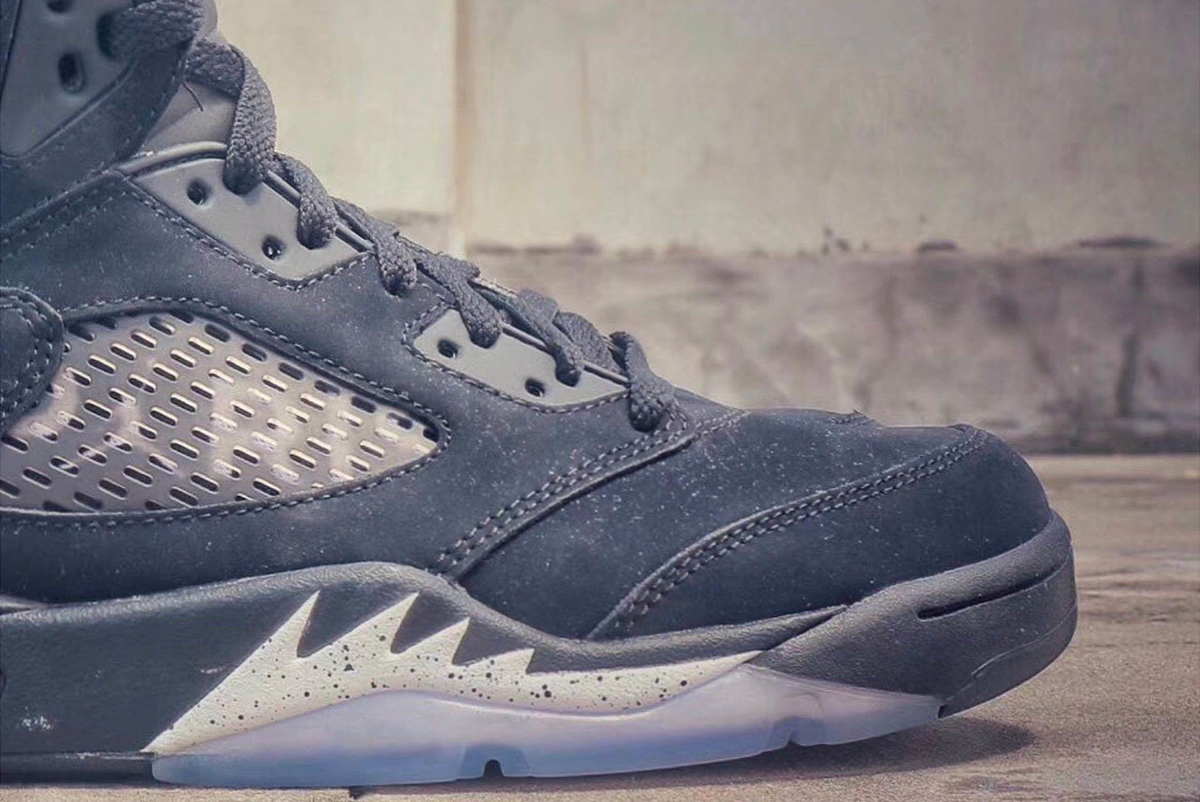 Air Jordan 5 Retro Paris Saint Germain First Look 2 Sneaker Freaker