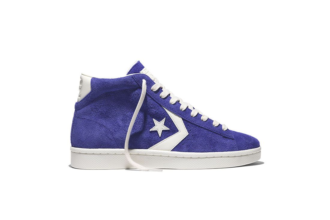 Converse Pro Leather 76 Vintage Suede Pack 7