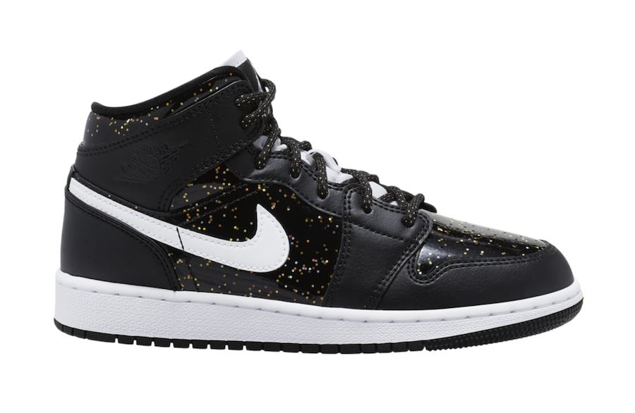 Air Jordan 1 Mid Speckle Right