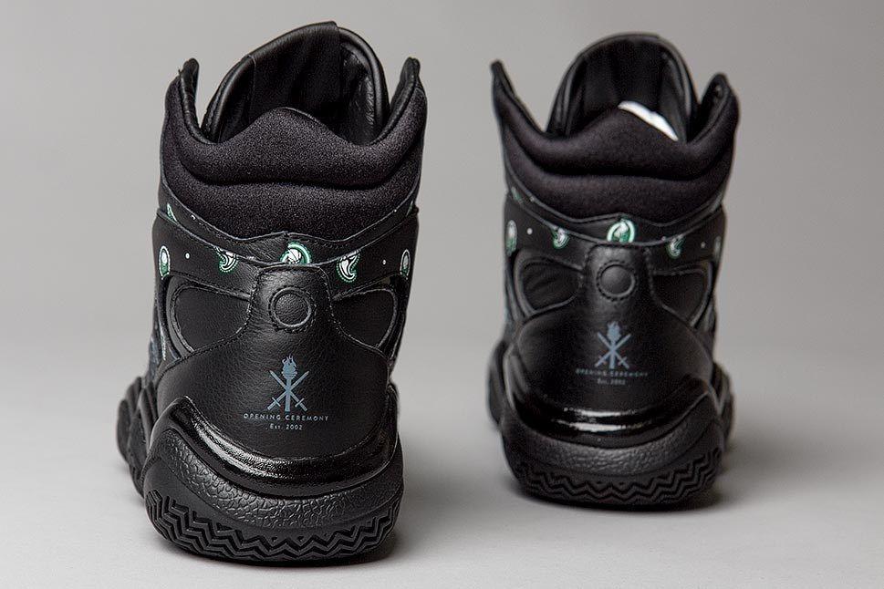 Opening Ceremony Adidas Top Ten Black Heels