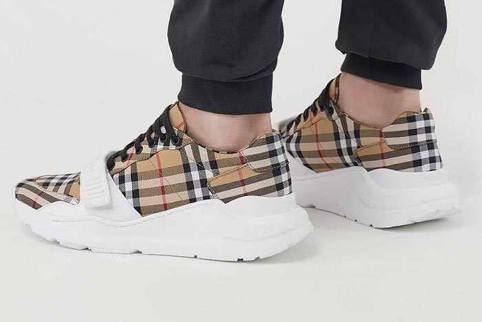 Burbery Vintage Check Sneaker 6