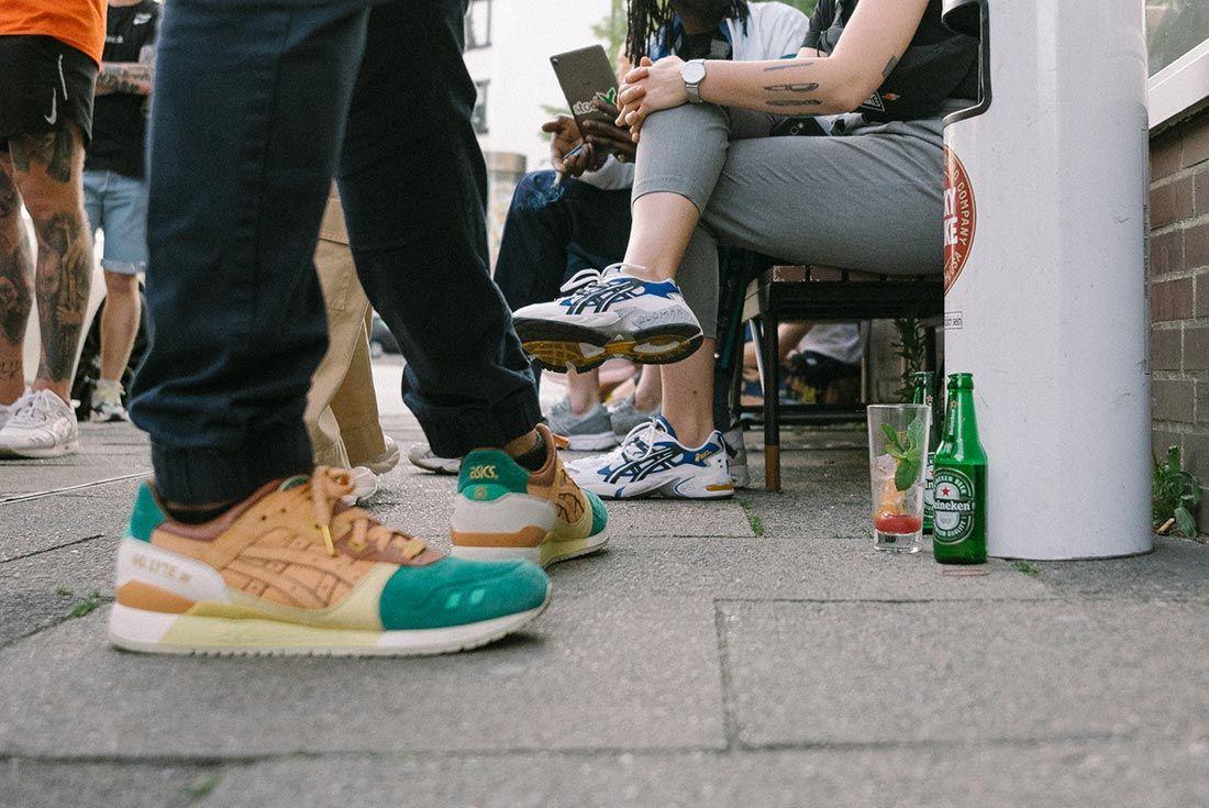 Allike Asics Sneaker Freaker Event Recap Outside