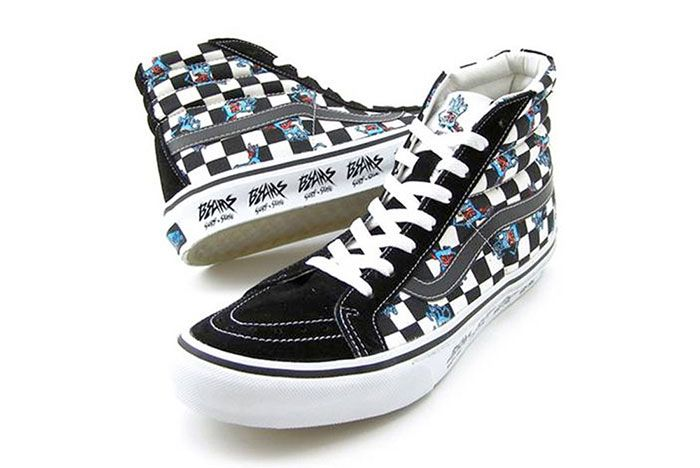 Vans Sk8 Hi Beams Jim Phillips Check