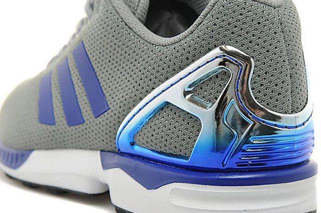Adidas Zx Flux Metallic Blue4