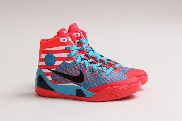 Nike Kobe Ix Elite Gs Laser Crimson 3