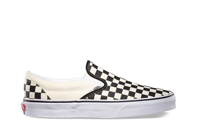 Vans Classic Slip On Checkerboard Lateral