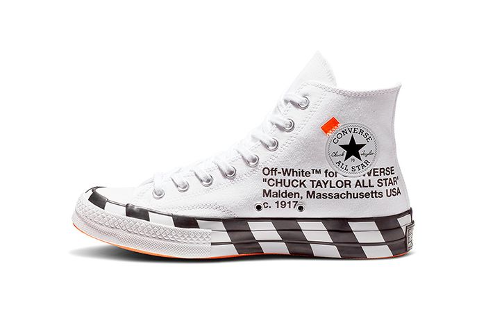 Off White Converse Chuck 70 Stripe White Official 3