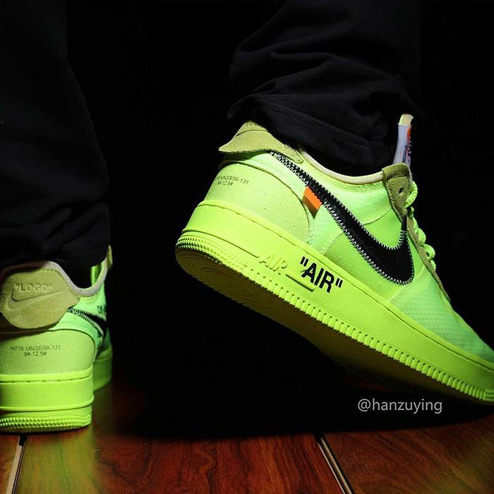 Off White Nike Air Force 1 Low Volt 13