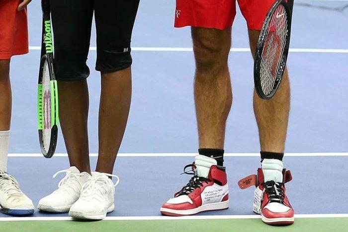 Federer Air Jordan 1 Virgil 2