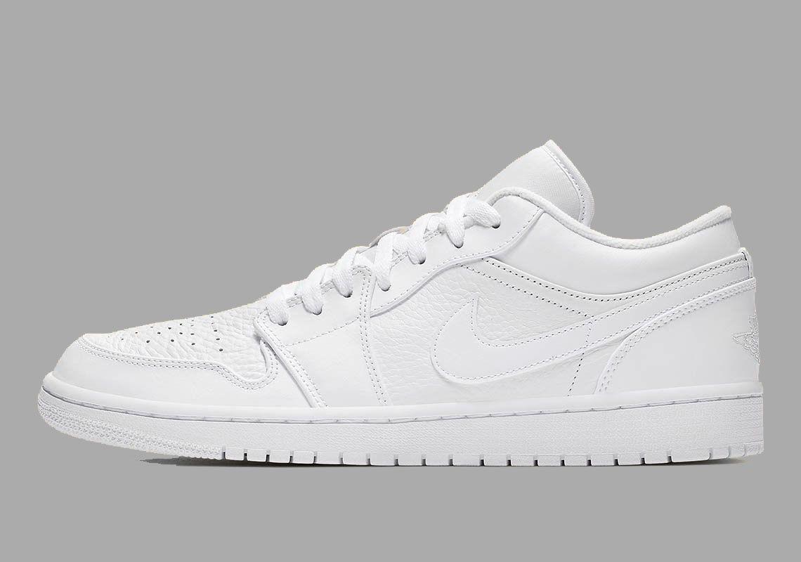 Air Jordan 1 Low White 553558 111 2