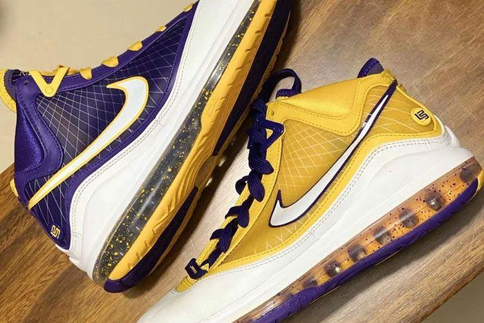 Nike Lebron 7 La Lakers Pack