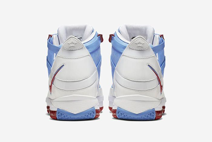 Nike Lebron 3 Houston Oilers 2019 Retro Ao2434 400 Release Date Heel