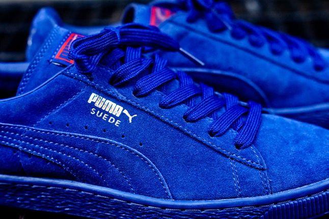 Puma Suede Mazarine Blue 1